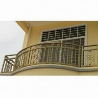 Quality Balcony Balusters with Hot Dipped Galvanized Steel, Available in Various Colors wholesale