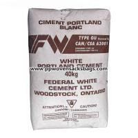 Quality Poland Cement / Block Bottom Kraft Paper Valve Sacks Mineral Packing PP Woven Bags wholesale