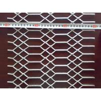 Quality Mild / Low Carbon Steel Galvanized Steel Expanded Metal Wire Mesh Diamond Hole wholesale