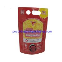 China Plastic Wine Bag In Box, Food Packaging Bag, BIB Spout Pouch bag on sale