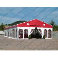 Buy cheap Colorful Waterproof Alumunium PVC Tent with Church Windows or Plain White from wholesalers