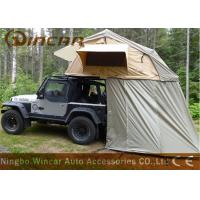 Quality Truck Soft Car Top Tent Outdoor Waterproof 260g / 280g Canvas Material For Camping wholesale
