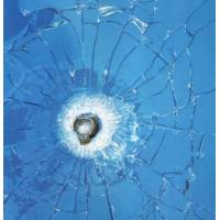 Quality 6.38-42.3mm Safe bulletproof / Bullet Resistant Glass for stock , insurance department wholesale