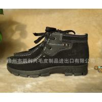 China Wholesale Winter Man Men's Fashion Casual Shoe Boots ,snow boots sheepskin double face on sale