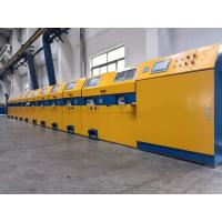 Buy cheap Vertical Type Straight Line Wire Drawing Machine For Low / Medium Carbon Steel from wholesalers