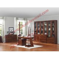 Quality High Quality Solid Wooden Material Bookcase Set in Study Room wholesale