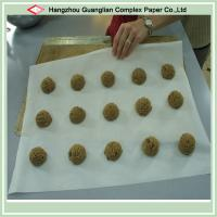 China 400x600m Silicone Parchment Paper Tray Liners For Baking Cooking on sale