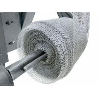 Quality Exhaust Systems Stainless Steel Knitted Wire Mesh Liquid Gas Filter 0.08-0.55mm Wire wholesale
