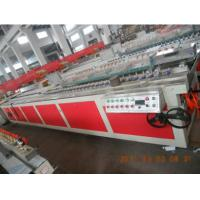 Quality WPC Wood Plastic Composite Machine / Wpc Machinery With Twin Screw ODM and OEM wholesale