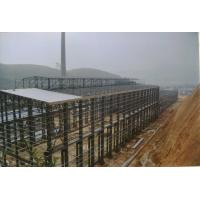 China Warehouse Structural Steel Engineering , Pre Engineering Steel Structure Fabrication Drawing on sale
