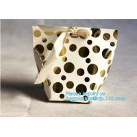 China China Supplier Wholesale Custom Card Paper Candy /Pastry /Cookie Paper Bag Carrier Bag Gift Bag with Handle bagease pack on sale