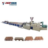 Quality PE HDPE Door Floor Deck Profile Production Line PC WPC Plastic Wood Durable wholesale