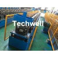 Quality Steel Metal Gutter Roll Forming Machine For Making Rainwater Gutter & Box Gutter With PLC Frequency Control wholesale