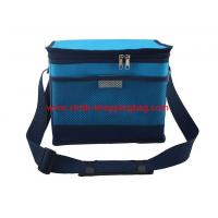 Quality 300D customized blue built lunch ice bag for hiking 4200ml wholesale