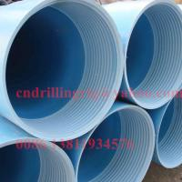 Pvc casing and screen pipe water well drilling parts m