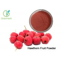 Quality Red Brown Fruit Juice Powder Hawthorn Berry Fruit Powder Improving Digestion wholesale