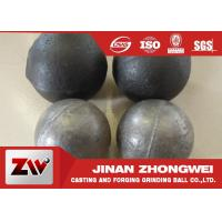 Quality Cement plant use  forged and low chrome cast grinding ball / steel grinding balls wholesale