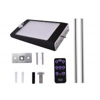 Quality Mounting Pole Optional Dimming Solar Wall PIR Lights With 3 Light Modes wholesale