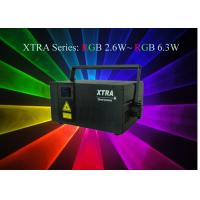 China 6.3W RGB Laser Stage Light For Graphic Show , 637nm / 532nm / 445nm on sale