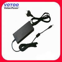 Quality Three Pin AC100-240V DC 12V 5A CCTV Power Adapter / LED Strip Power Adapter wholesale