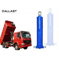 Double Acting  Dump Trailer Hydraulic Cylinder Telescopic Lifting Tipper