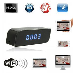 Cheap T8S 720P Alarm Clock WIFI P2P IP Spy Hidden Camera Home Security CCTV Surveillan for sale