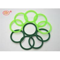 Quality Fluorine Rubber Seals O Ring Heat Resistant , Green O Rings For Aircraft Engine wholesale
