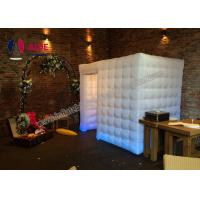 Cheap Colorful Romantic Inflatable Photo Booth Wedding Props For Party Digital Print for sale