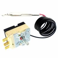 Quality Oven Adjustable Temperature Controlled Switch , Automatic Reset Capillary Thermostat 16A wholesale