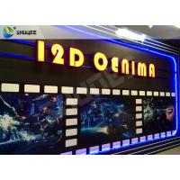 Quality SGS Dynamic 12D Cinema XD Simulator With 3 DOF Chairs / Motion Chair System wholesale