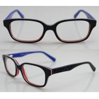 Quality Brown Acetate Kids Glasses Frames , Unisex Optic Glasses Frame wholesale