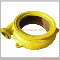 Quality Customized Gravel Suction Pump With Rubber Liners / High Chrome Alloy Liner wholesale
