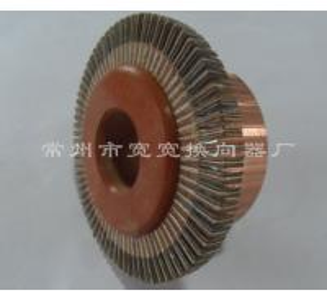 China Flameproof Wind Turbine Oar Motor Commutator / 75 Segment Commutator For Oar Motor on sale