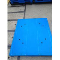 Quality Reinforced reversible plastic pallet with Europe standard and flat top welding tech wholesale