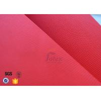 "Quality Industrial Fiberglass Fire Blanket 14oz 39"" Red Acrylic Coated Fiberglass Fabric wholesale"
