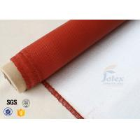 Quality 1000GSM Silicone Coated Fiberglass Fabric For Electrical Insulation Fire Blanket wholesale