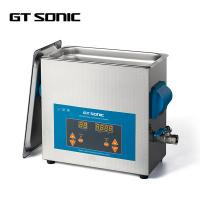 Cheap LED Display Metal Parts Ultrasonic Cleaner 6L 40kHz 150 Watt High Frequency for sale