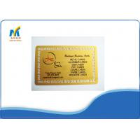 China Standard 86*54 cm Professional Sublimation Metal Cards For Social Business on sale