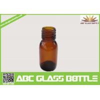 Cheap 30ml Amber Glass Bottle For Syrup With Din28 Neck for sale