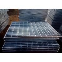Quality Electro Galvanized Steel Grating Q235 Press Welded Steel Oil Proof wholesale