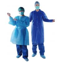 Quality Standard Clinic Disposable Surgical Gown / Disposable Hospital Theatre Gowns wholesale