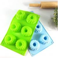 Quality Lightweight Silicone Cake Molds Non Deformed Deshwasher Washable wholesale