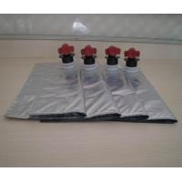 China Customizable Laminated foil aseptic BIB Bag In Box Wine Packaging 3L 5L on sale