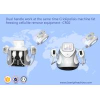 Quality Dual Handle Fat Freezing Cellulite Weight Loss Machines CR02 110v / 220v wholesale