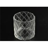 Quality Modern Soda Lime Glass Tea Light Candle Holders Small Heat Proof wholesale