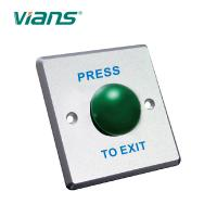 Quality Waterproof Mushroom Door Exit Button Stainless Steel Embedded Electric Case wholesale