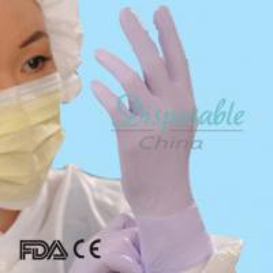 China Medical Powder Free Latex Nitrile Gloves on sale