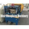Buy cheap Pannasonic Control Ridge Cap Roll Forming Machine for Making 0.4 - 0.8 mm Sheet from wholesalers