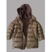 Quality Fashion Hooded Baby Childrens Down Jackets Brown Long Sleeves wholesale