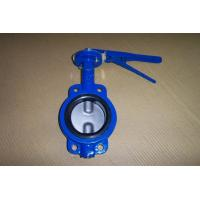 China CL150/PN16 CAST IRON GG25 CONCENTRIC RUBBER LINED WAFER/LUGGED BUTTERFLY VALVE on sale